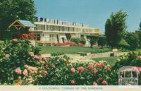 A colourful corner of the gardens, Fletcher Jones, Pleasant Hill, Warrnambool
