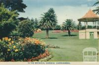 In the Botanical Gardens, Warrnambool, 1960