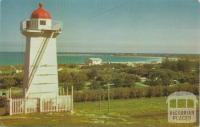 Overlooking camping area and harbour, Warrnambool