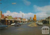 High Street, Wodonga, 1976