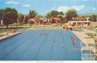 The Olympic Swimming Pool, Wodonga, 1965