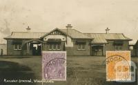 Railway Station, Woomelang, 1924