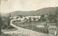 Yackandandah from Albury Road, 1907