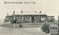 Bush Nursing Hospital, Yackandandah