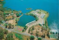 Aerial view Cypress Gardens, Yarrawonga