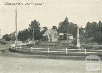 Soldier's Memorial, Yea
