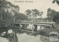 Concrete Bridge, Yea