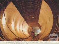 Clifton Hill Line, under construction 1971-82