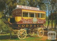 Cobb and Co Coach, Swan Hill Folk Museum