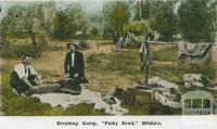 Breaking camp, Pinky Bend, Mildura