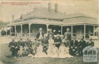 Mildura Hospital showing Dr Abramowski, staff and committee, c1910