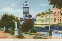 Gardens, Statuary and Public Buildings, Sturt Street, Ballarat, 1958
