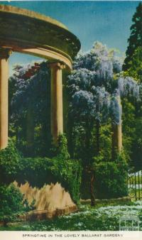Ballarat Gardens, 1958