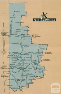 Map West Wimmera