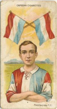 Footscray Football Club, Capstan Cigarettes Card