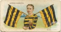 Richmond Football Club, Capstan Cigarettes Card