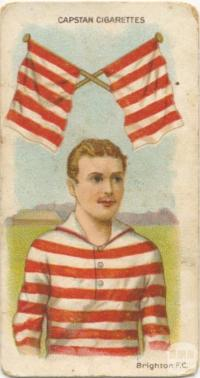 Brighton Football Club, Capstan Cigarettes Card