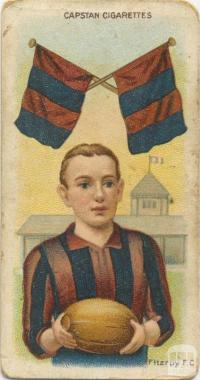 Fitzroy Football Club, Capstan Cigarettes Card
