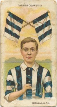 Collingwood Football Club, Capstan Cigarettes Card