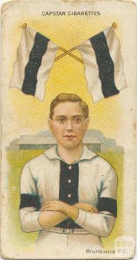 Brunswick Football Club, Capstan Cigarettes Card