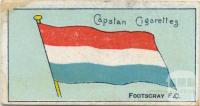 Footscray Football Club, Capstan Cigarettes Card
