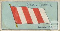 Ballarat Football Club, Capstan Cigarettes Card