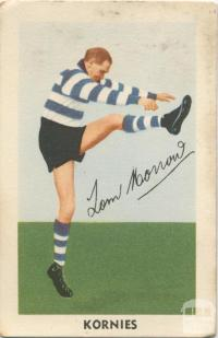 Tom Morrow, Geelong Football Club, Kornies Card