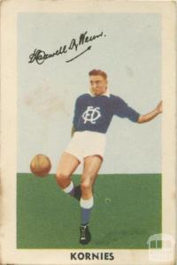 Maxwell Wenn, Oakleigh Football Club, Kornies Card