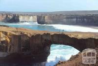 London Bridge, near Twelve Apostles on Great Ocean Road, 1986