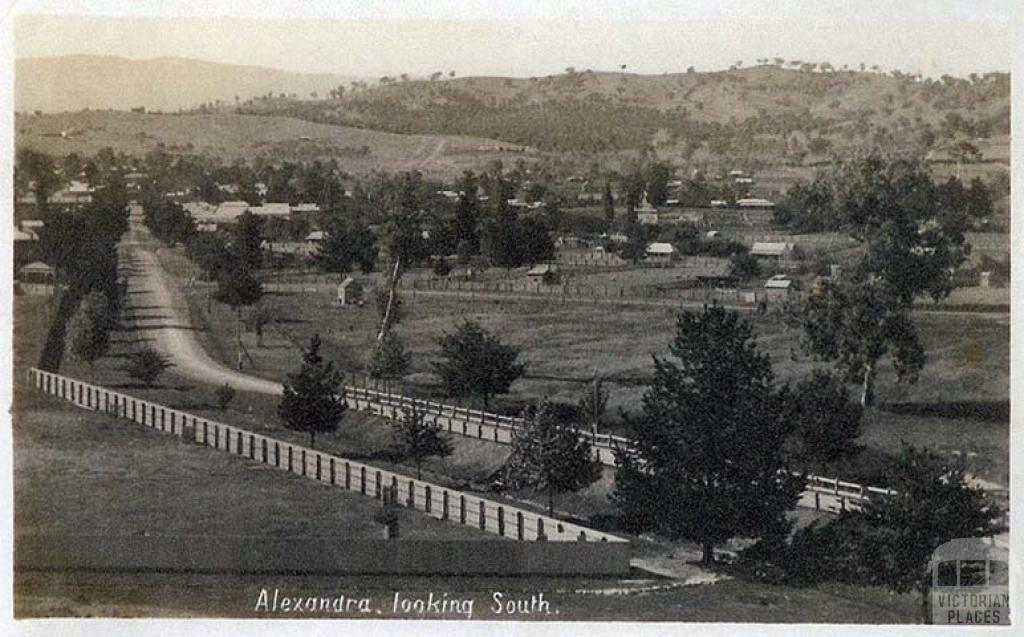 Alexandra looking south, 1912