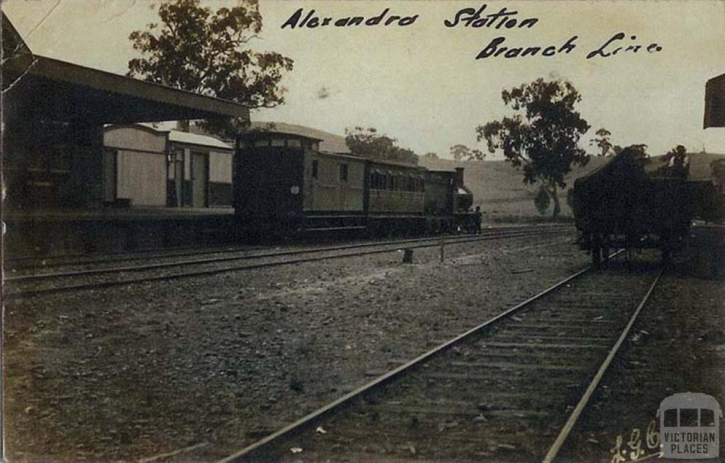 Alexandra Station, Branch Line, 1912
