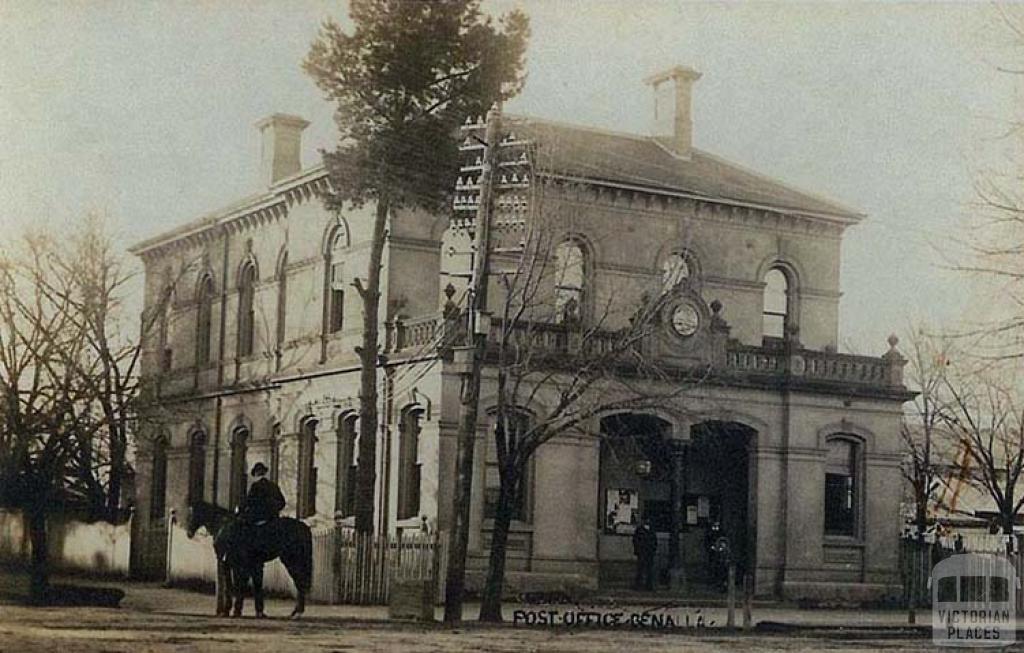 Benalla Post Office, c1909