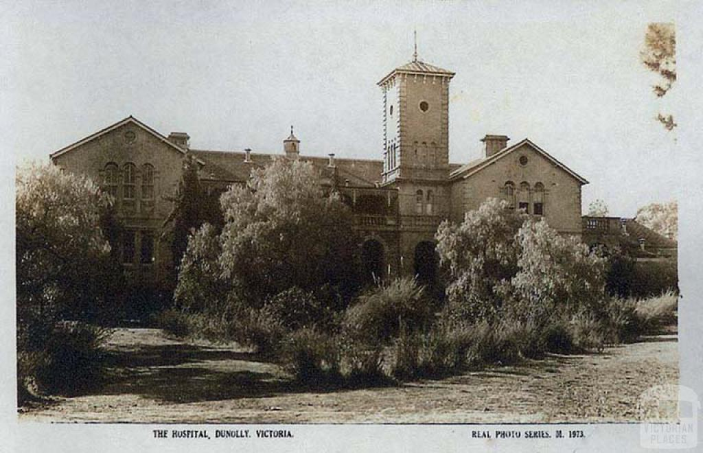 The Hospital, Dunolly, c1910