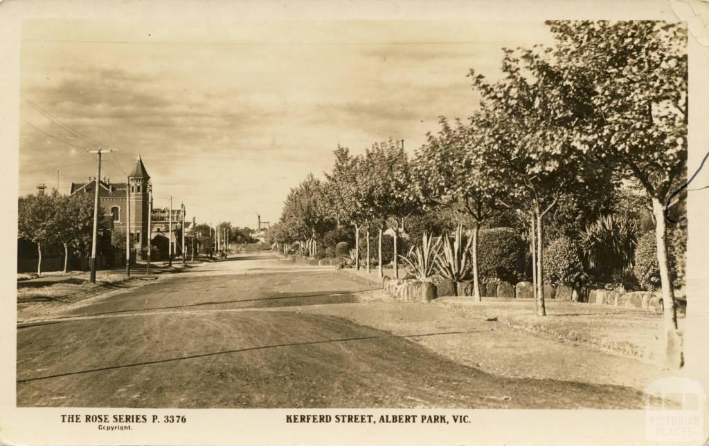 Kerferd Street, Albert Park