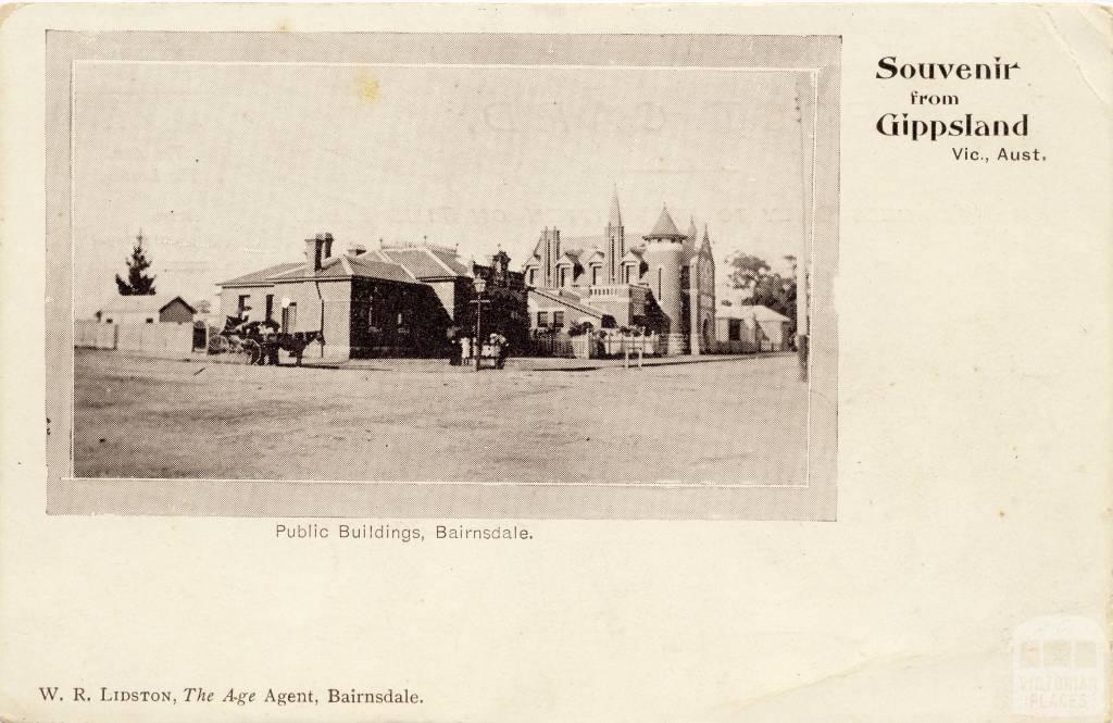 Public Buildings, Bairnsdale