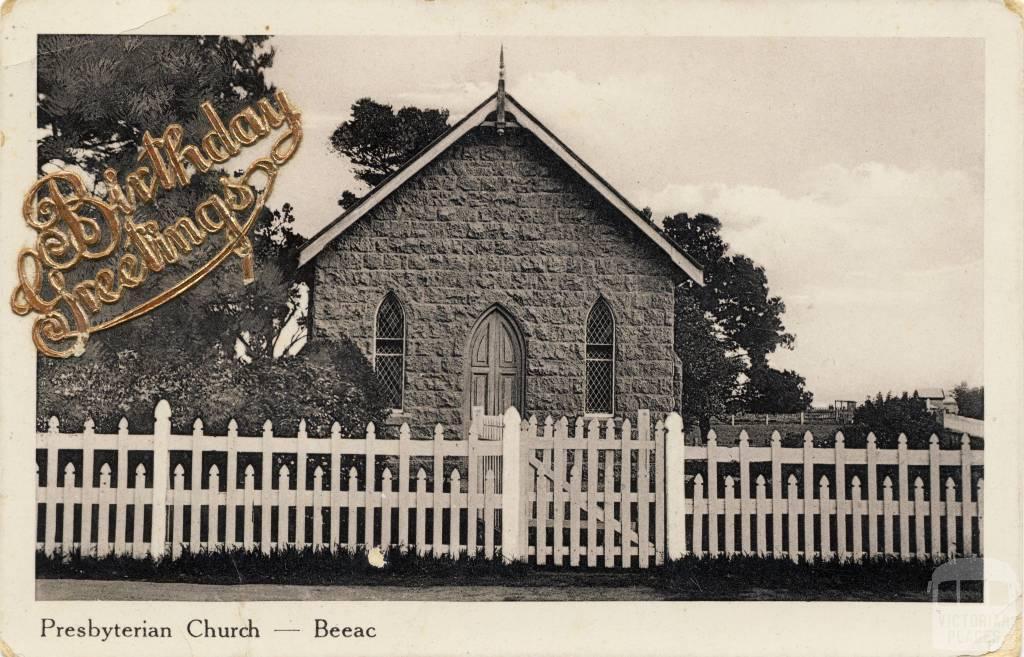 Presbyterian Church, Beeac