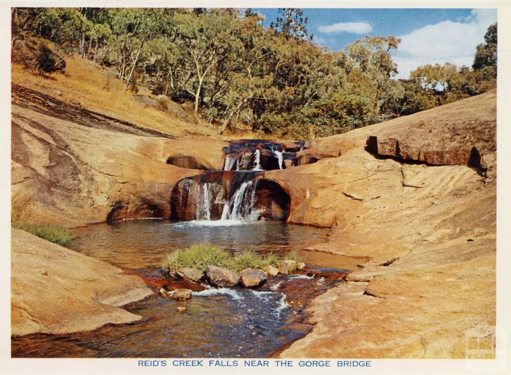 Reid's Creek Falls, near the Gorge Bridge, Beechworth