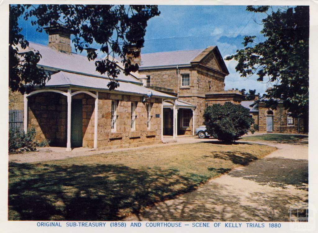 Original sub-treasury (1858) and courthouse, Beechworth