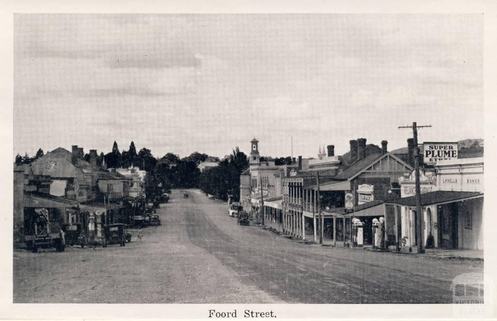 Foord (Ford) Street, Beechworth