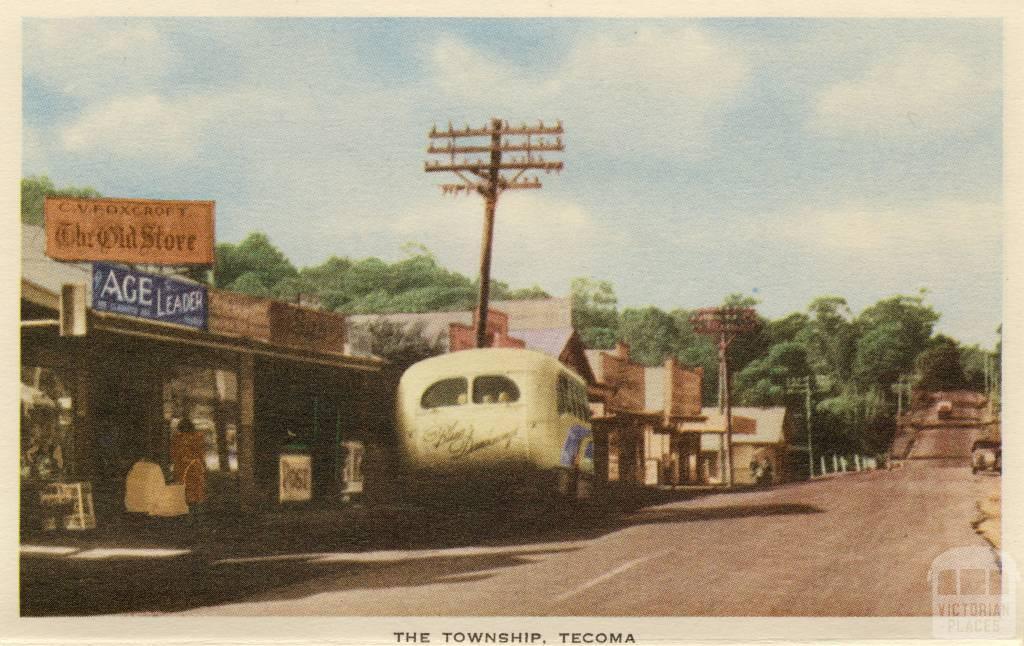 The township, Tecoma