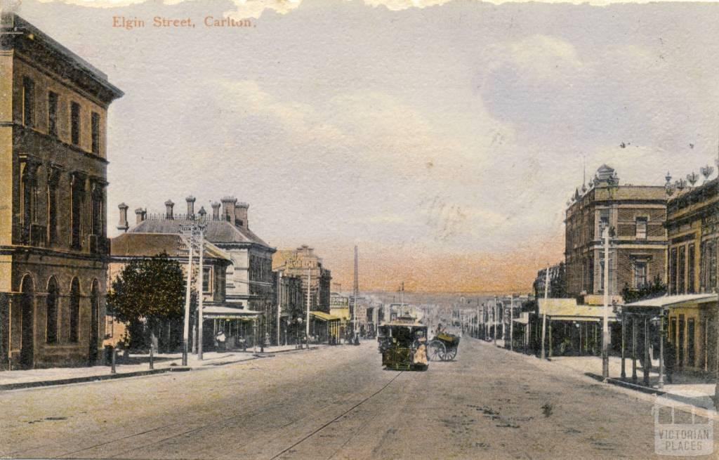 Elgin Street, Carlton