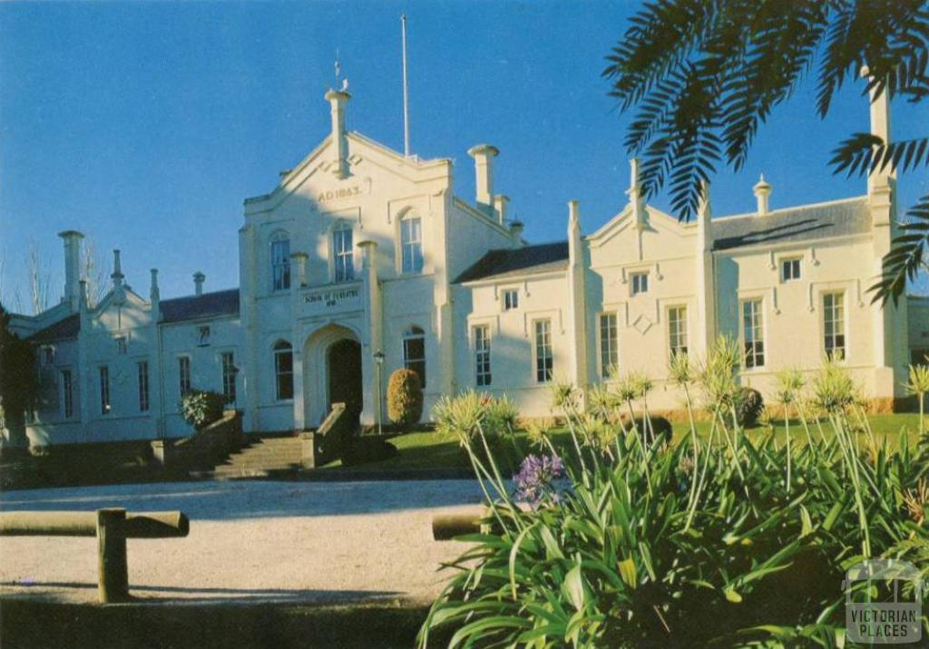 School of Forestry, Creswick, built 1863 as the original goldfields hospital
