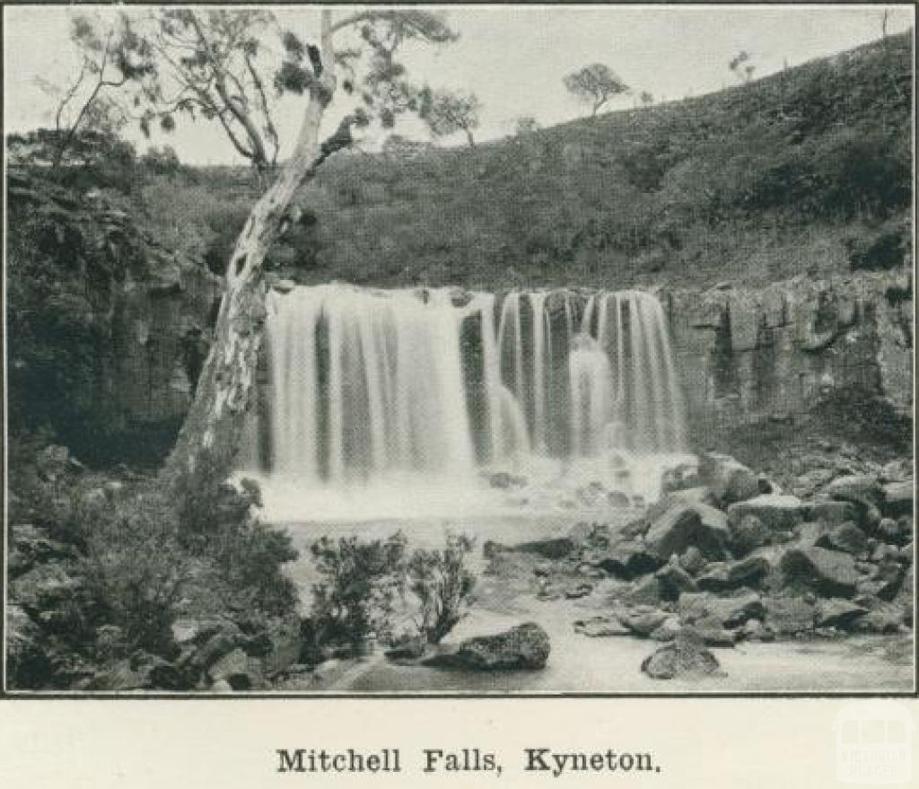 Mitchell Falls, Kyneton, 1918