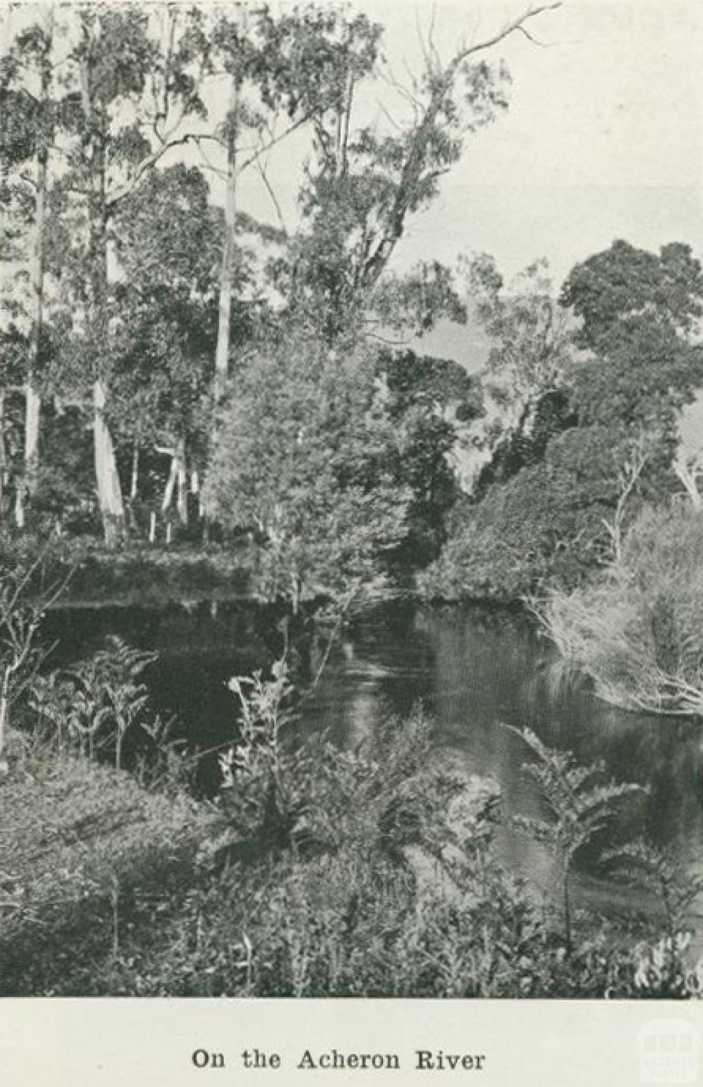 On the Acheron River, 1918
