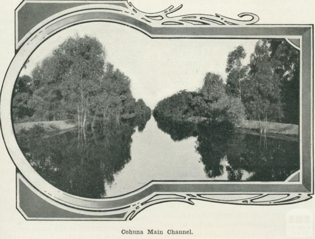 Cohuna Main Channel, 1918