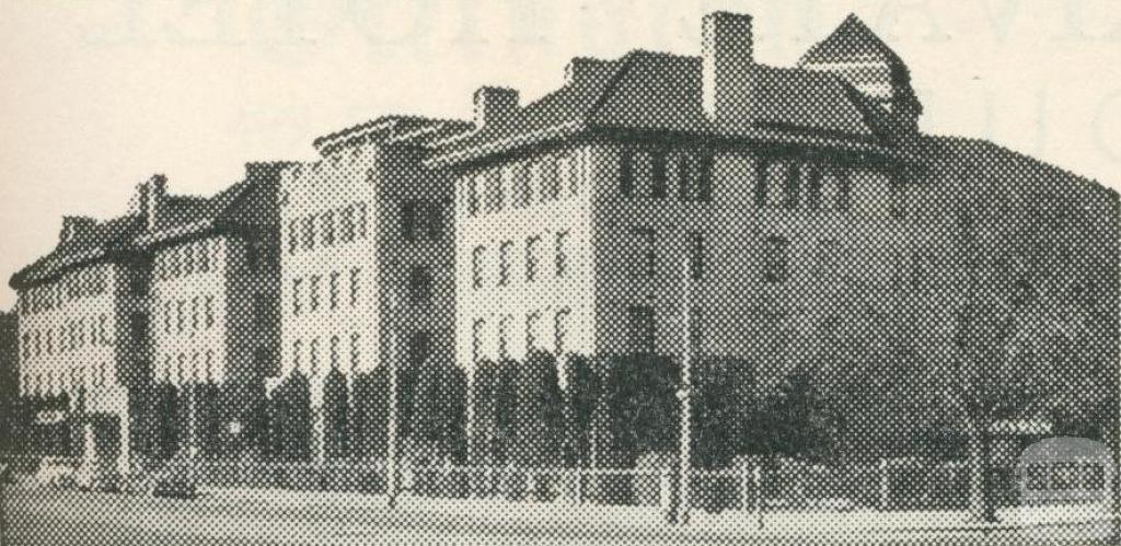 The Chevron Hotel, Melbourne, 1950