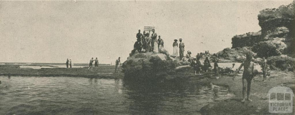 The Rock Swimming Pool - Ocean Beach, Sorrento, 1947-48