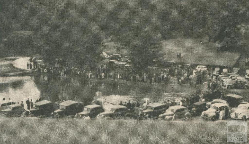 Lake at Emerald Park, 1947-48
