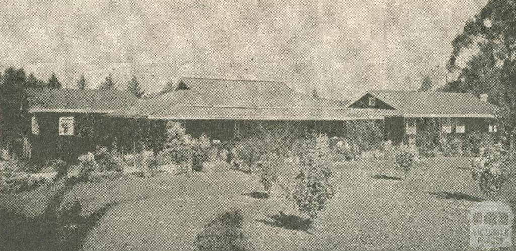Nammoora Guest House, Mount Dandenong, 1947-48