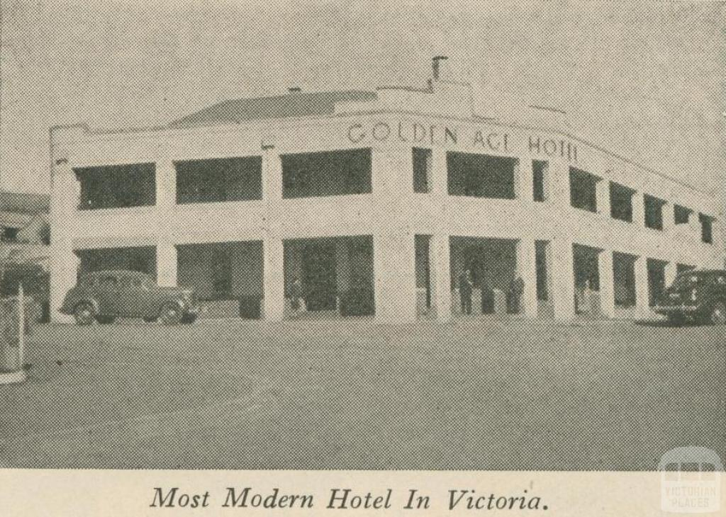 Golden Age Hotel, Omeo, 1947-48